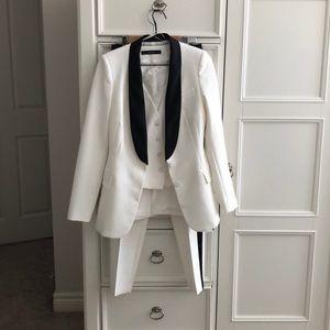 Zara Women's White Tuxedo Size XS/S Never Worn